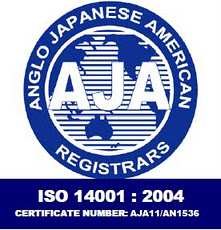 ISO 14001 Bio-Tech Environmental Certificate from AJA