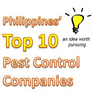Top 10 Pest Control Companies in the Philippines
