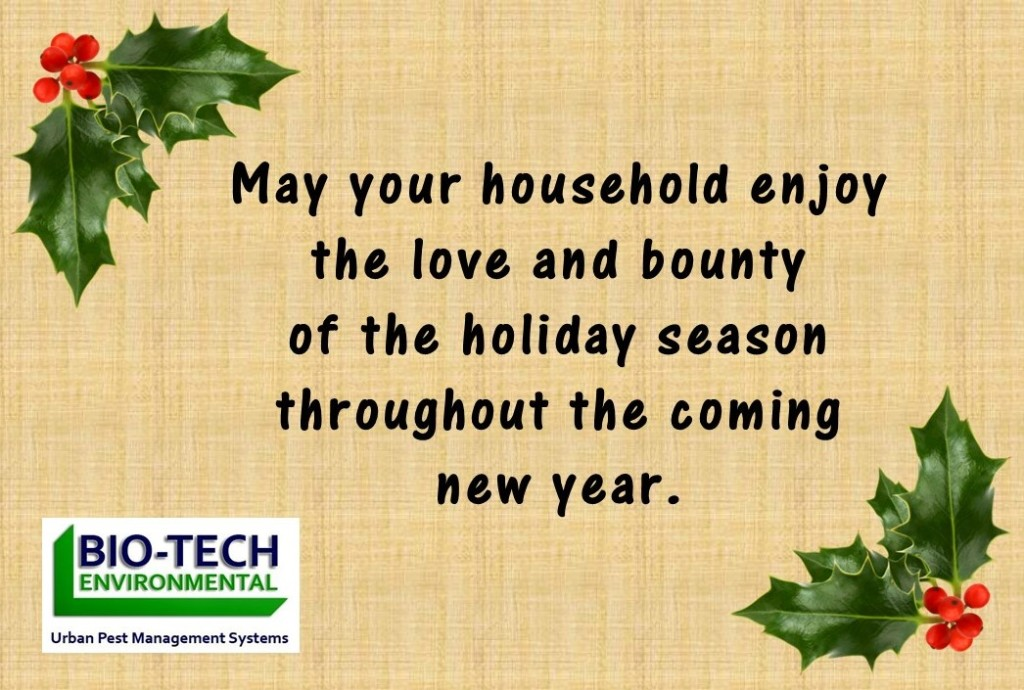 Bio-Tech Holiday Greetings 2014