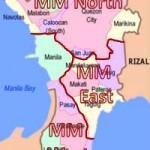 Zones of Pest Control Operations in Metro Manila